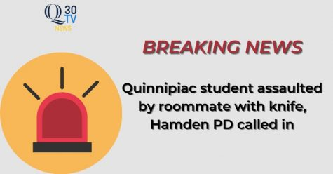 Quinnipiac student assaulted by roommate with a knife