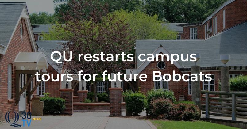 Quinnipiac Restarts Campus Tours for Future Bobcats